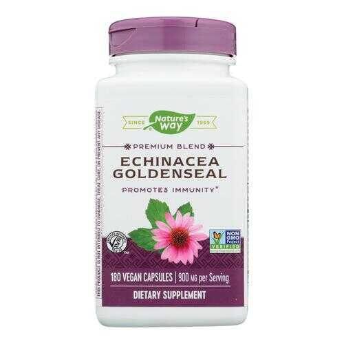 Nature's Way Echinacea Goldenseal - 180 Capsules