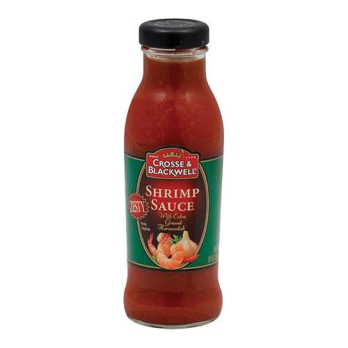 Crosse and Blackwell Chutney Seafood Sauce - Shrimp Sauce - Case of 6 - 12 oz.