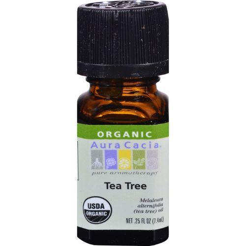 Aura Cacia - Organic Essential Oil - Tea Tree - .25 oz