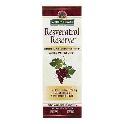 Nature's Answer - Resveratrol Reserve Alcohol Free - 5 fl oz