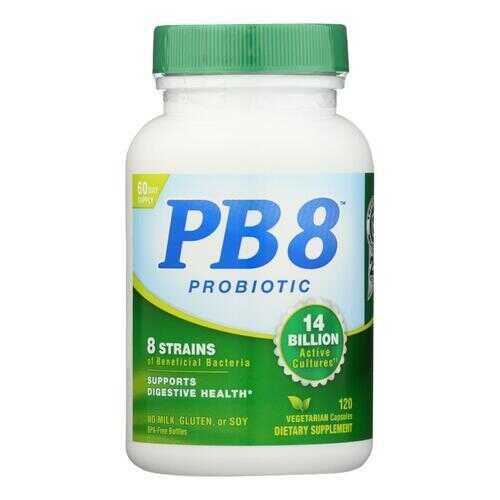 Nutrition Now PB 8 Pro-Biotic Acidophilus For Life - 120 Vegetarian Capsules