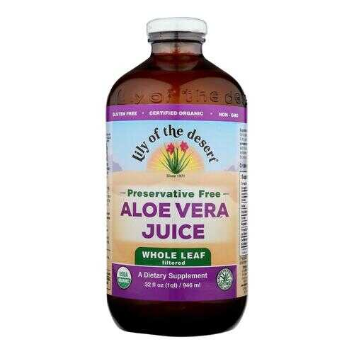Lily of the Desert - Aloe Vera Juice - Whole Leaf - 32 fl oz