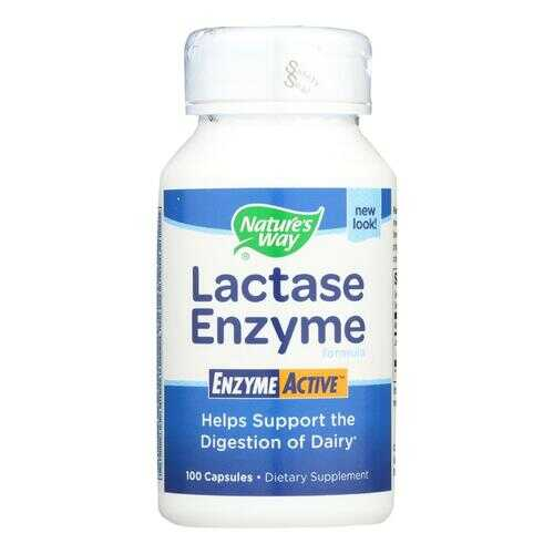 Nature's Way - Lactase Formula - 100 Capsules