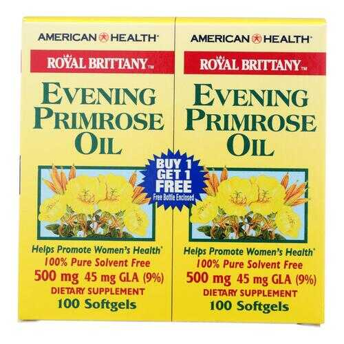 American Health - Royal Brittany Evening Primrose Oil 100+100 Softgels