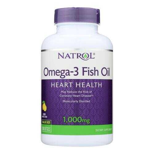 Natrol Omega-3 Fish Oil Lemon - 1000 mg - 150 Softgels