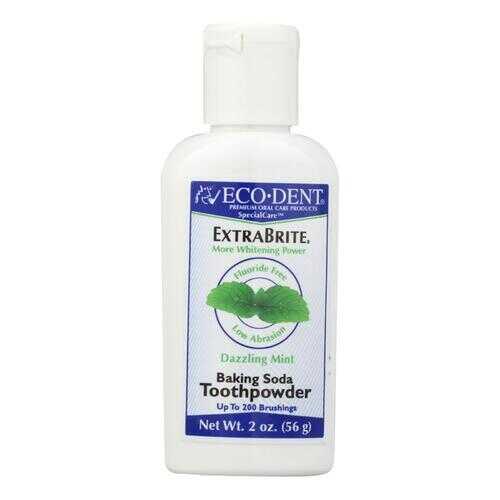 Eco-Dent Toothpowder Xtra-Brite - Fluoride Free - 2 oz