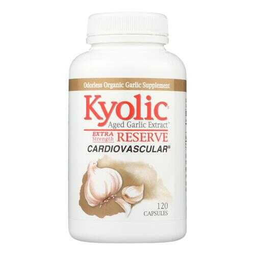 Kyolic - Aged Garlic Extract Cardiovascular Extra Strength Reserve - 120 Capsules