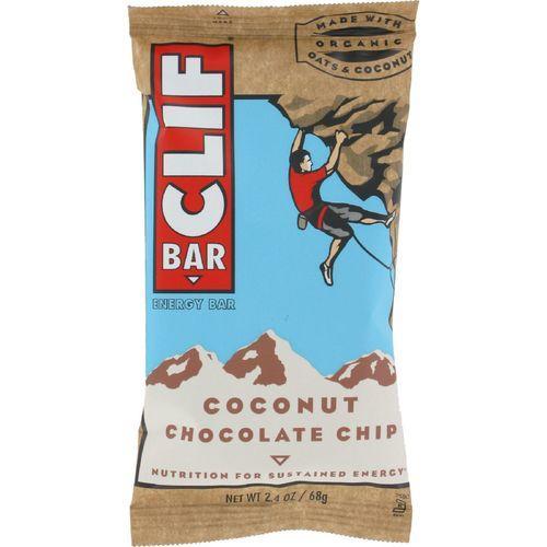 Clif Bar - Organic Coconut Chocolate Chip - Case of 12 - 2.4 oz