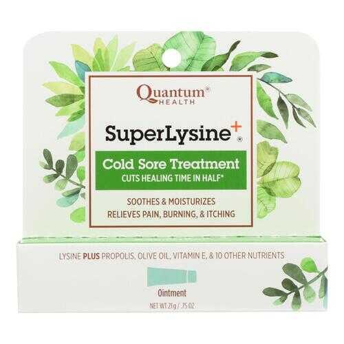 Quantum SuperLysine Plus Cold Sore Treatment - 0.75 oz
