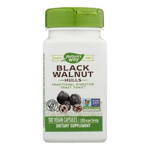 Nature's Way - Black Walnut Hulls - 100 Capsules
