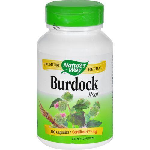 Nature's Way - Burdock Root - 100 Capsules