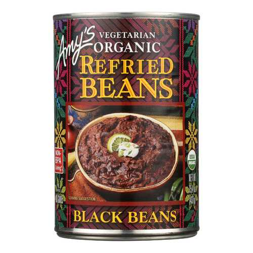 Amy's Organic Refried Black Beans - 15.4 oz.