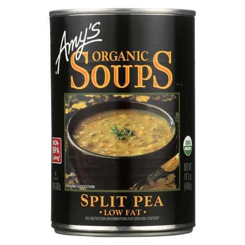 Amy's Organic Fat Free Split Pea Soup - 14.1 oz