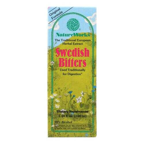 Nature Works Swedish Bitters - 3.38 fl oz