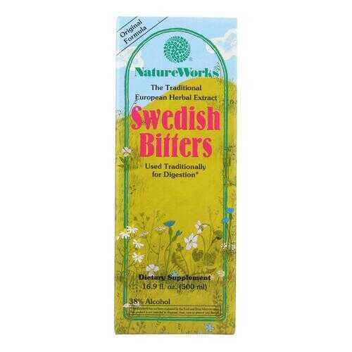 Nature Works Swedish Bitters - 16.9 fl oz