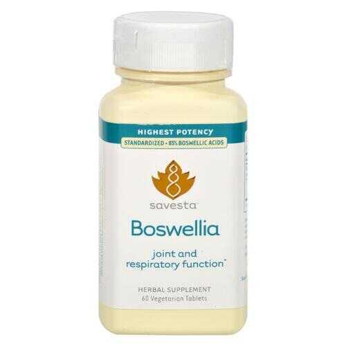 Savesta Boswellia - 60 Vegetarian Tablets