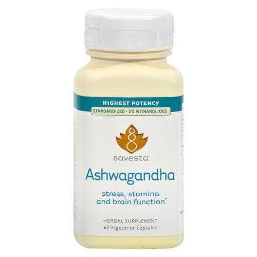 Savesta Ashwagandha - 60 Vegetarian Capsules