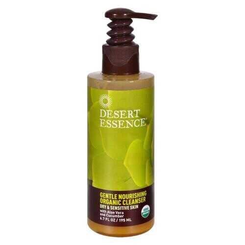Desert Essence - Gentle Nourishing Organic Cleanser - 6.7 fl oz
