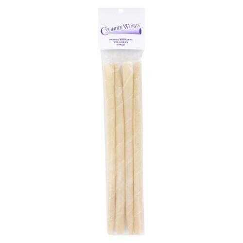 Cylinder Works - Herbal Paraffin Ear Candles - 4 Pack