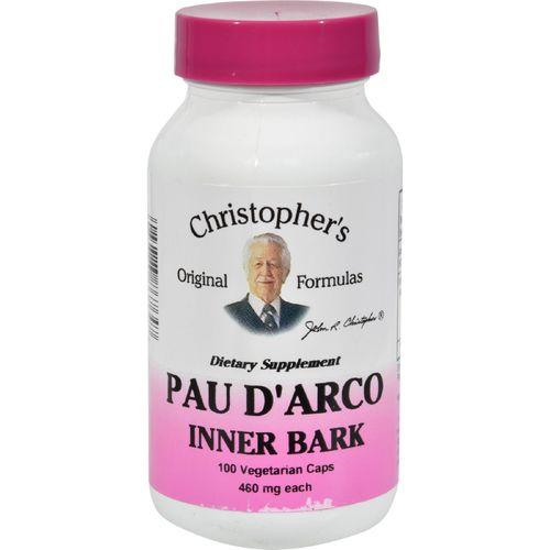 Dr. Christopher's Pau D'Arco - 500 mg - 100 Vegetarian Capsules