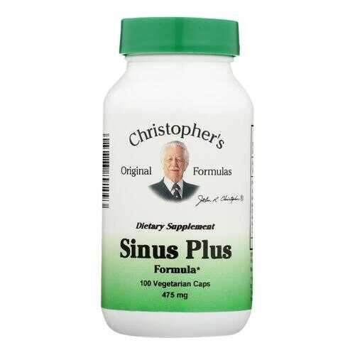 Dr. Christopher's Original Formulas Sinus Plus Formula - 475 mg - 100 Vcaps