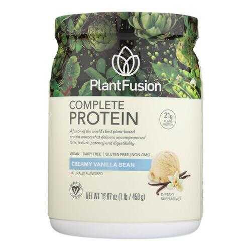 PlantFusion Multi Source Plant Protein Vanilla Bean - 1 lb