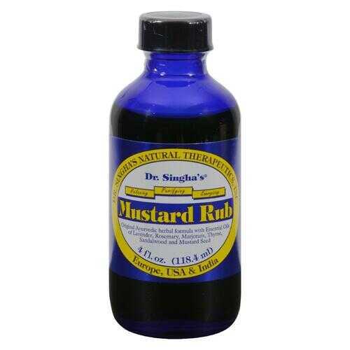 Dr. Singha's Mustard Rub - 4 fl oz