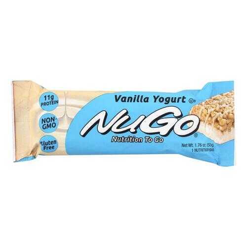 Nugo Nutrition Bar - Vanilla - Case of 15 - 1.76 oz