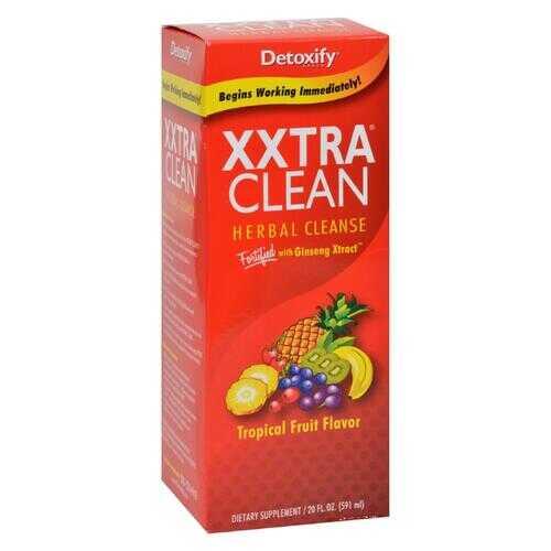 Detoxify - Xxtra Clean Herbal Natural Tropical - 4 fl oz