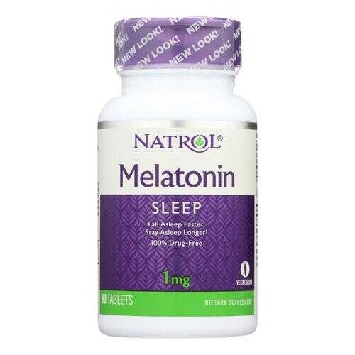 Natrol Melatonin - 1 mg - 90 Tablets