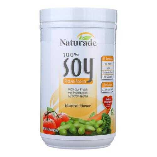 Naturade Soy Protein Booster Natural - 14.8 oz