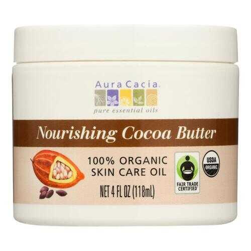 Aura Cacia Organic Cocoa Butter - 4 oz