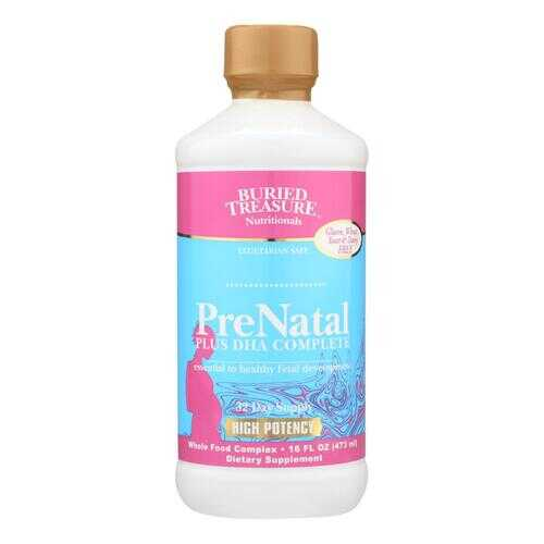 Buried Treasure PreNatal Plus DHA Complete - 16 fl oz