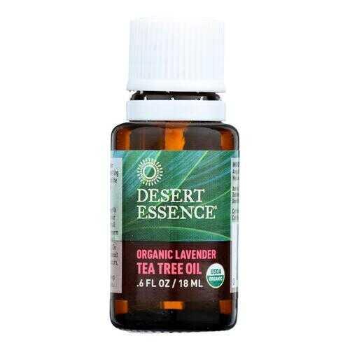 Desert Essence - Oil Lavender and Tea Tree - 0.6 fl oz