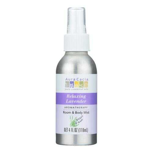 Aura Cacia Aromatherapy Mist Calming Lavender Harvest - 4 fl oz