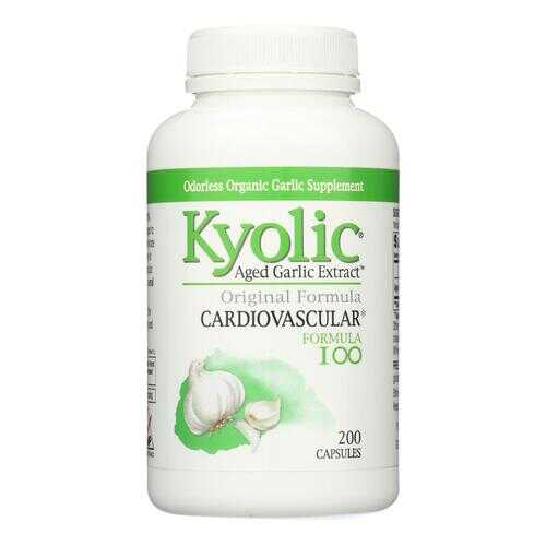 Kyolic Aged Garlic Extract Cardiovascular Formula 100 - 200 Capsules