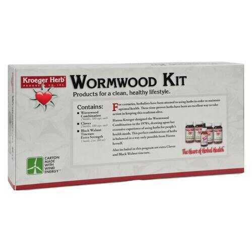 Kroeger Herb Wormwood Parasite Control Kit - 1 Kit