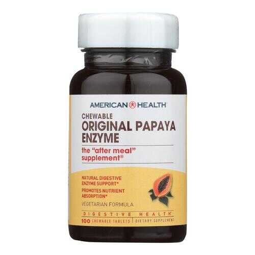 American Health - Original Papaya Enzyme - 100 Tablets