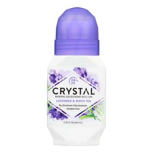 Crystal Essence Roll On Deodorant Lavender and White Tea - 2.25 fl oz