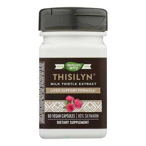 Nature's Way - Thisilyn Standardized Milk Thistle Extract - 60 Capsules