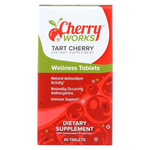 Cherry Works Chewable Tablets - Tart Cherry - 60 TAB