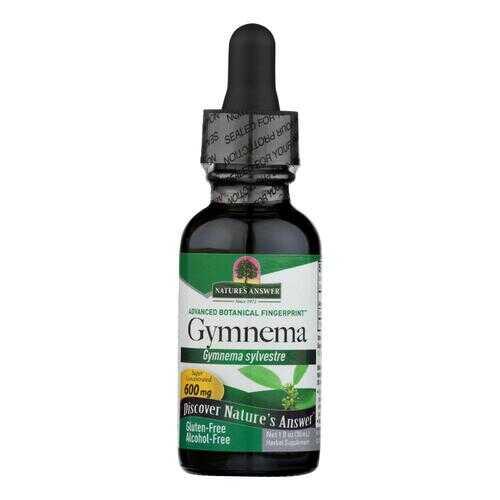 Nature's Answer - Gymnema Leaf Alcohol Free - 1 fl oz