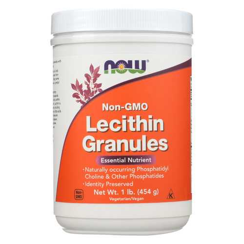 Now Foods Lecithin Granules - 16 oz