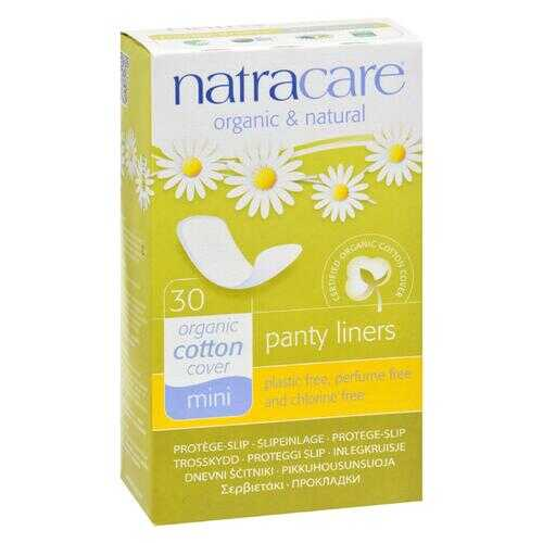 Natracare Natural Mini Panty Liners - 30 Pack