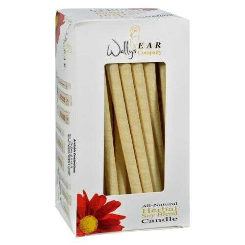 Wally's Natural Products Candles - Soy Blend Herbal - Case of 75