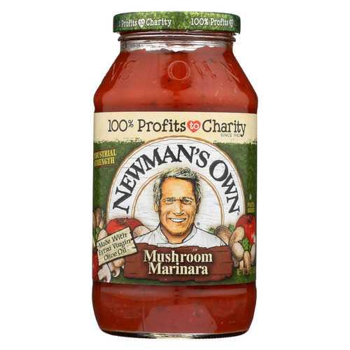 Newman's Own Pasta Sauce - Mushroom Marinara - 24 fl oz