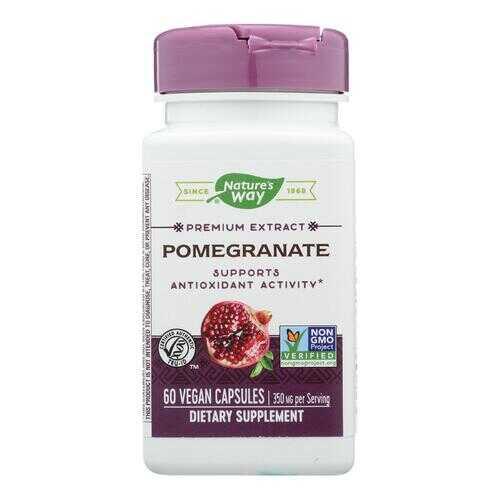 Nature's Way - Pomegranate Standardized - 60 Vegetarian Capsules