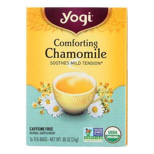 Yogi Organic Comforting Chamomile - 16 Tea Bags - Case of 6