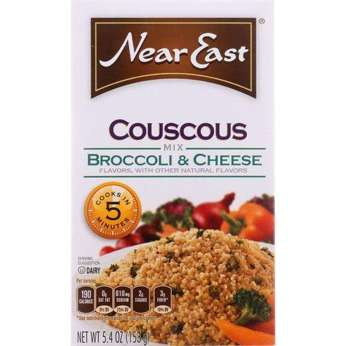 Near East Couscous - Broccoli and Cheese - 5.4 oz - case of 12