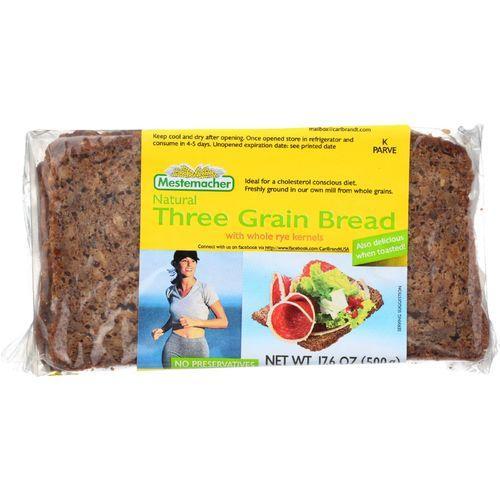 Mestemacher Bread Bread - Three Grain - 17.6 oz - case of 12